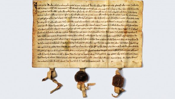 The Federal Charter is the document which established a defense alliance between the original three cantons in 1291.  Historians agree that the document is a product of the 14th century. In 1991, however, the parchment was radiocarbon dated to between 1252 and 1312.
