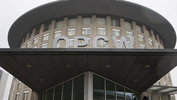 Swiss Federal Institute for NBC Protection chosen by OPCW to analyze chemical weapons samples taken near Damascus.